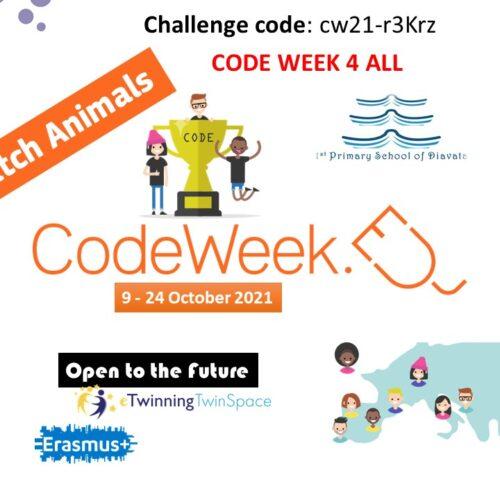 Codeweek poster ScratchAnimals